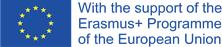 Erasmus+ logo.