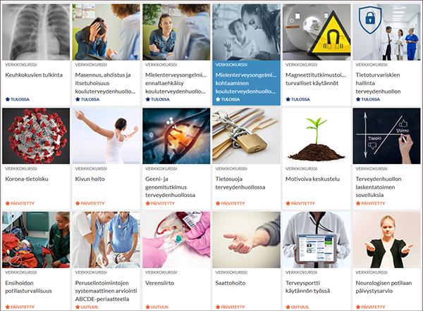 Oppiportti-verkkosivun näytönkaappaus.