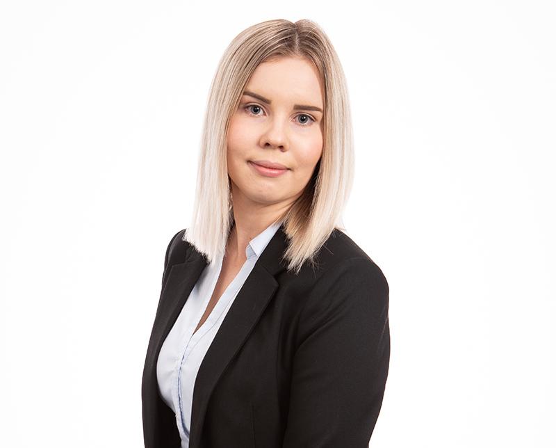 Jenna Mäntyvaara potretti/Jenna Mäntyvaara portrait